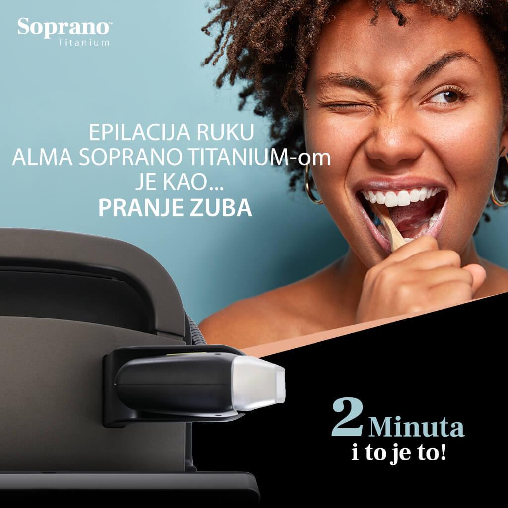 Laserska epilacija - Alma Soprano Titanium - Trajna epilacija laserom 01
